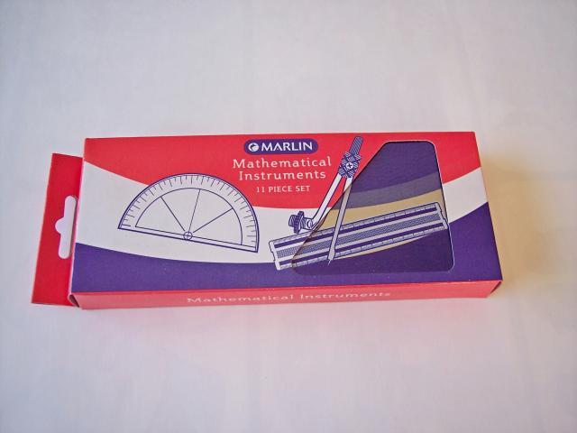 Marlin mathematics instruments set