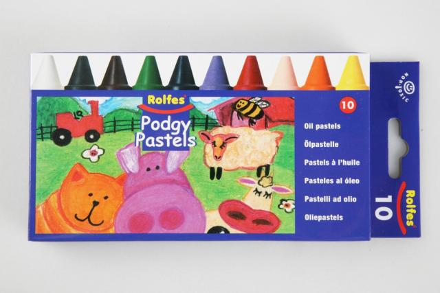 Rolfes Podgy oil pastel crayons
