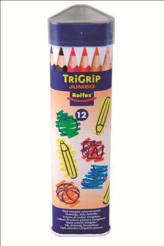 Rolfes Jumbo triangular pencil crayons