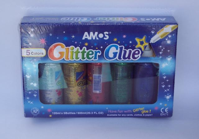 Amos jumbo glitter glues
