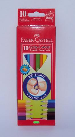 Faber grip colour pencils