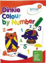 Smile Dinky Colour by Number book